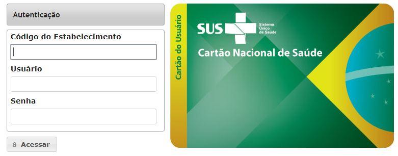 Consulta Número do Cartão SUS pelo Nome