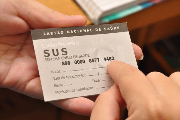 Número do Cartão SUS